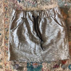 Forever 21 Sweatshirt Skirt